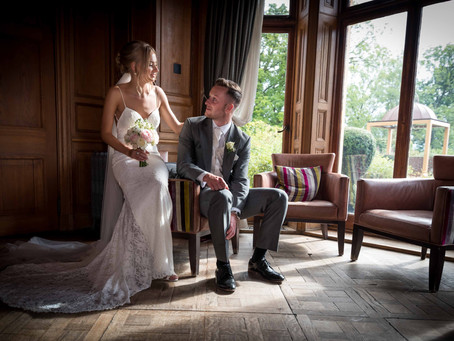 Stunning Wedding of Matt & Laura at Wood Norton