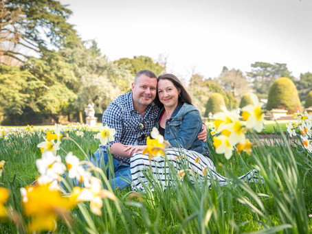 Joanne and Gary's Pre Wedding Photoshoot at Shugborough Hall.