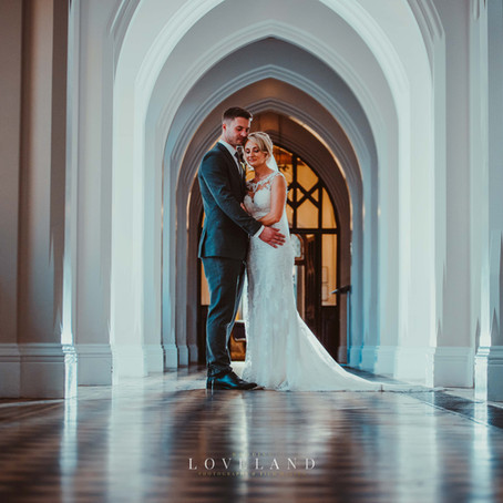 Becky and Adam got married at the gorgeous Grade II listed Stanbrook Abbey on a lovely autumnal day