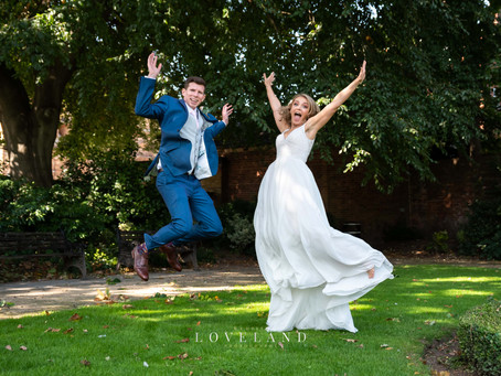 Zhanna and Andrews wedding in the beautiful Lichfield.