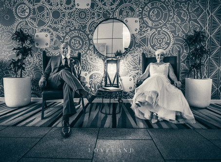 Rob and Loraine's Elegant and sophisticated, Urban wedding at The Cube, Birmingham.