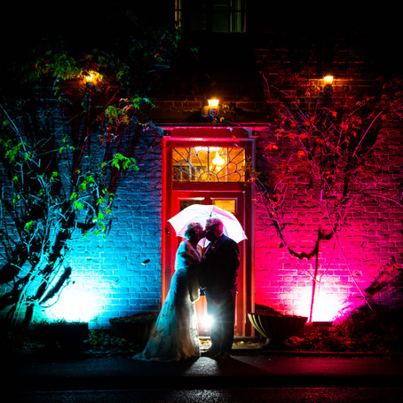 Donna and Steve got married at the whimsical Hundred House on a very cold, crisp day in December.