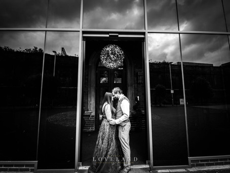Viran and Mark celebrated their wedding reception at Grand Station Hotel, Wolverhampton.