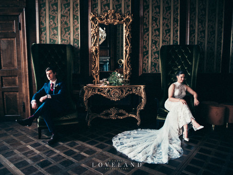 Annabel and David had their gorgeous wedding at the unique Georgian Davenport House.