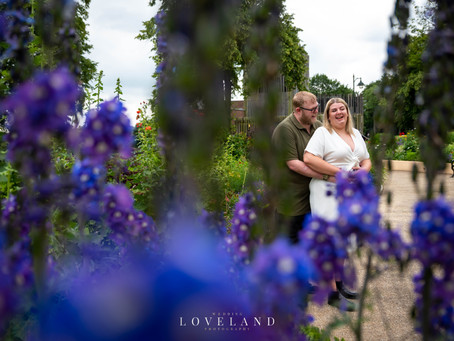 Kirsty and Brett finally got their pre wedding photoshoot at Sandwell Valley!