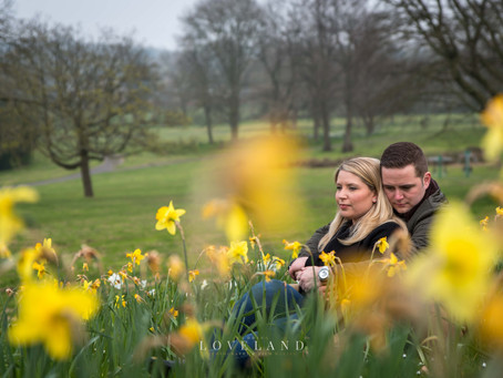 Katie and Nicks Pre Wedding Photoshoot at Sandwell Valley.