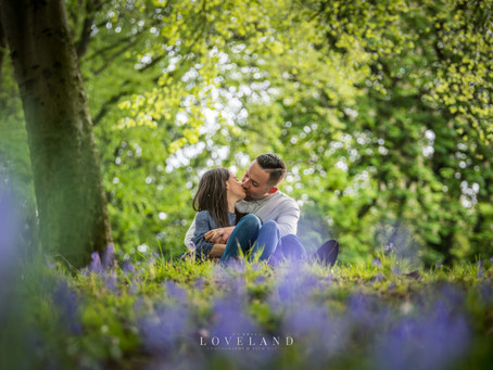 Sean and Orlaghs Pre Wedding Photoshoot at Sandwell Valley.