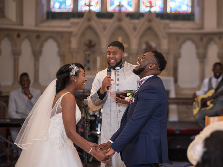 Beautiful wedding of Shenola and Jonathan at St Johns Church, Ladywood, Botanical Gardens and The H