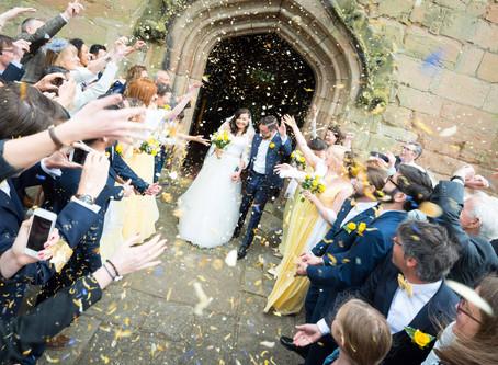 Tristan & Claudia's Wedding at St Nicolas' Church, Kings Norton, Birmingham.