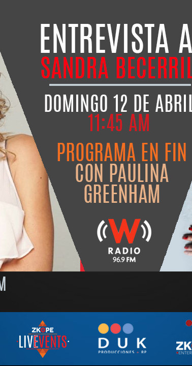 Medio: W Radio | Paulina Greenham