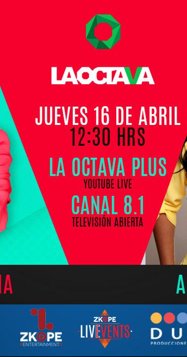 Medio: La Octava+ y Canal 8.1