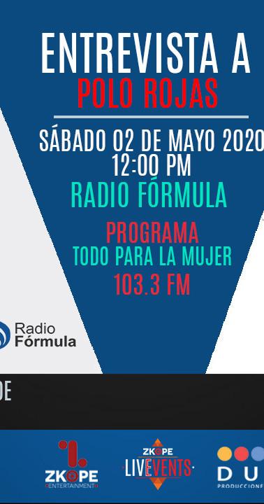 Medio: Radio Fórmula