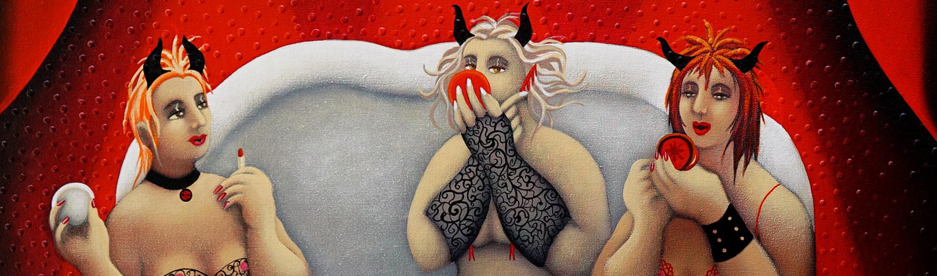Concubinas del Diablo