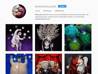 Bertha Horta | Estrena Instagram