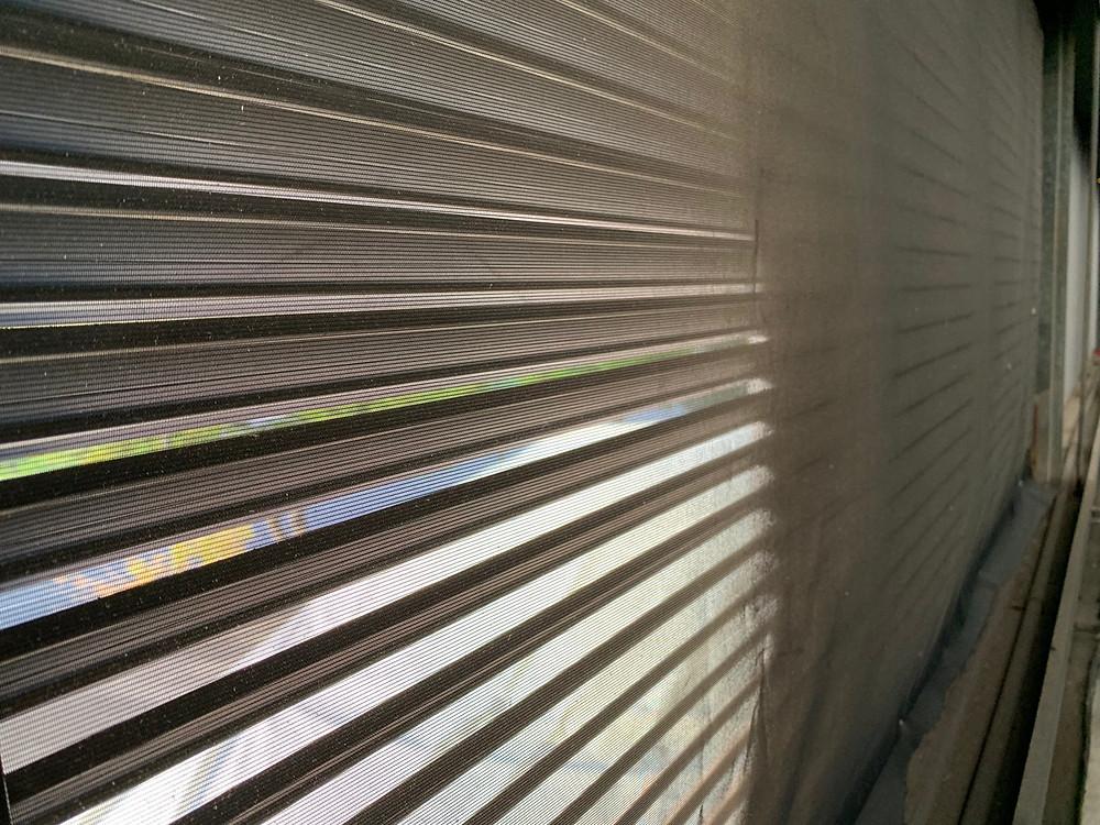 garage dust prevention screen