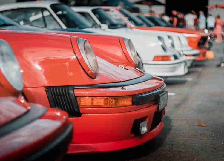 porsche 911 cars and coffee