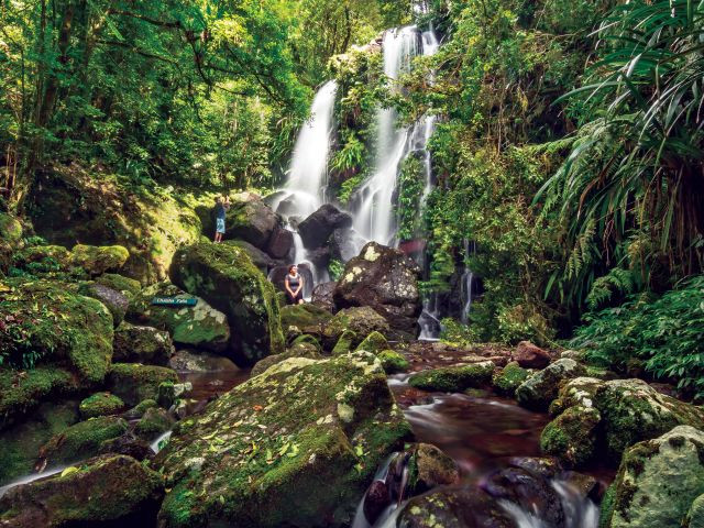 Waterfall in Lamington National Park