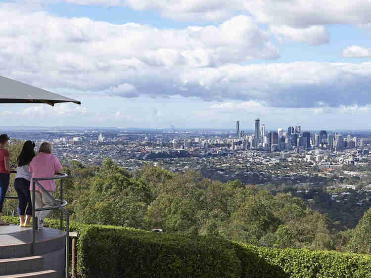 Mt Coot-Tha look out
