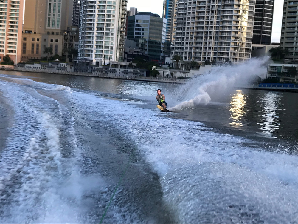 brisbane city water skiing