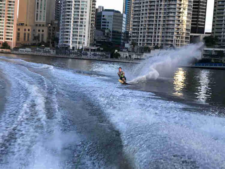 brisbane city water skiing