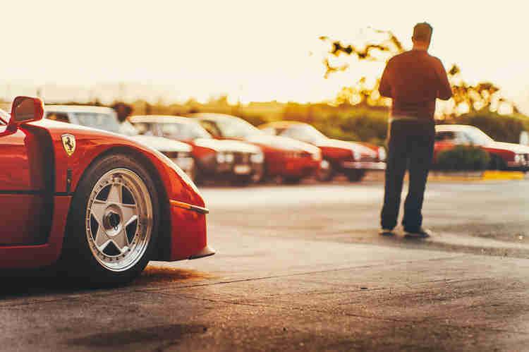 Ferrari car storage