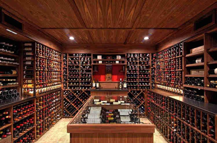 wine cellar fancy