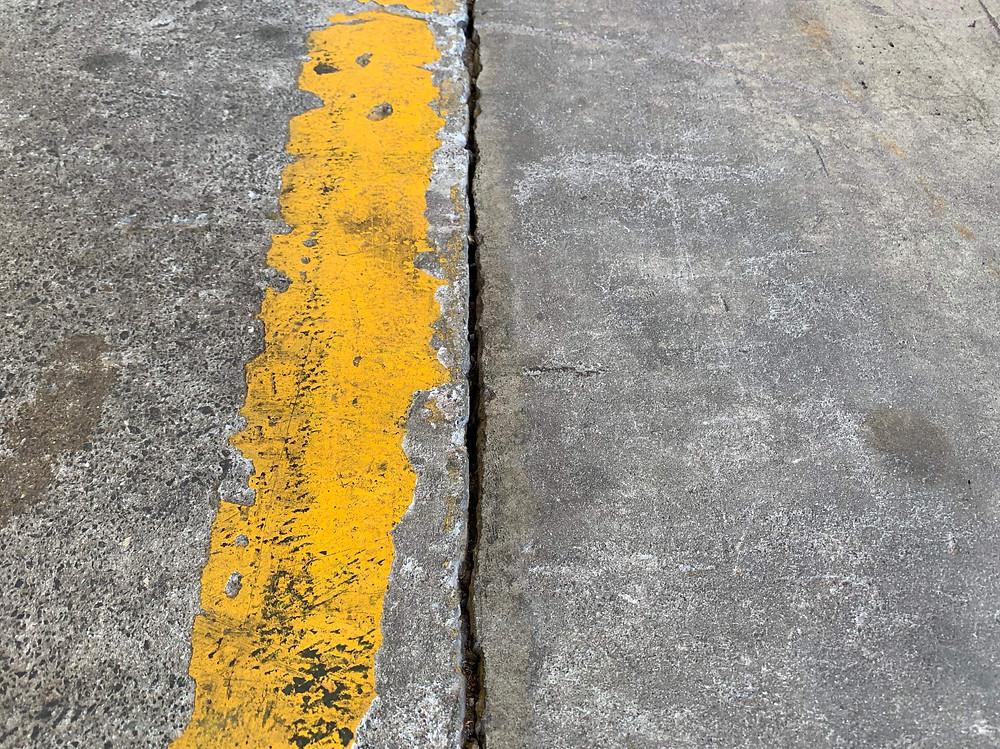 Dust control concrete