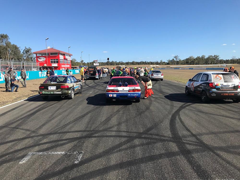 24 hours of lemons australia queensland raceway 2018