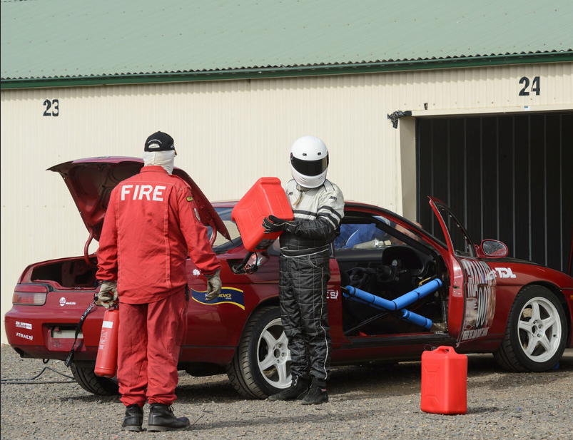 motorsport refuelling