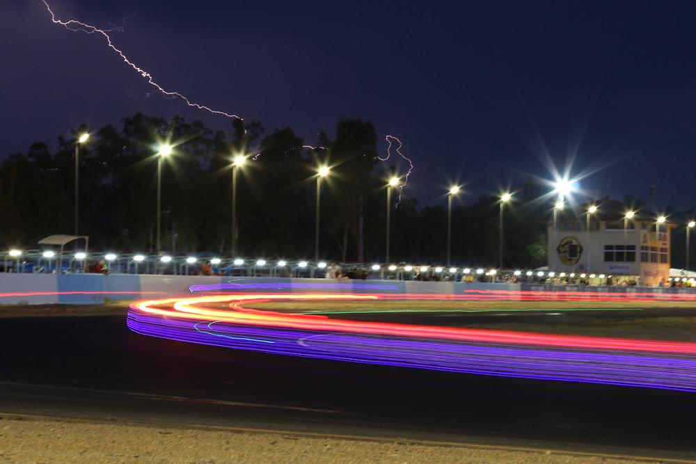 Queensland raceway night racing