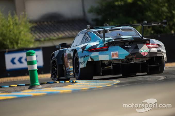 Le mans 2018 GTE-AM winner Proton Dempsey Racing