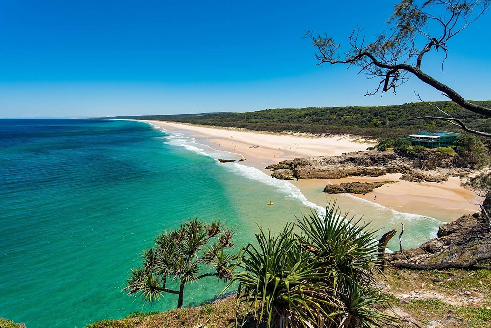Beach on North Stradbroke Island