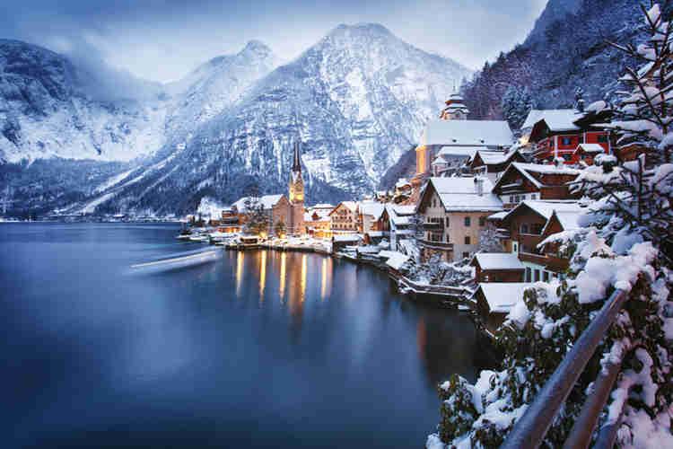 Winter holiday destination