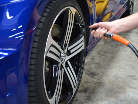 How To Manage Car Tyre Pressures Whilst in Storage