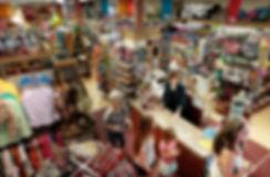 Customers shopping at Nina's Department & Variety Store
