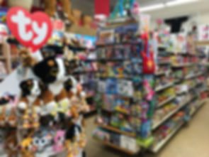 Toys, Games, and Plush Animals at Nina's Department & Variety Store
