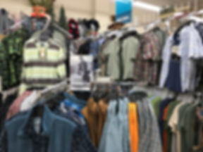 Men's Clothing at Nina's Department & Variety Store