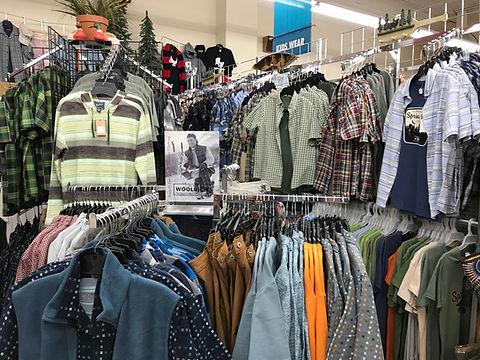 Men's Clothing at Nina's Department & Variety Store
