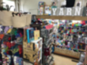 The Yarn Shop at Nina's Department & Variety Store
