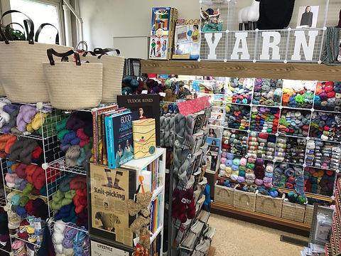 The Yarn Shop at Nina's Department & Variety Store