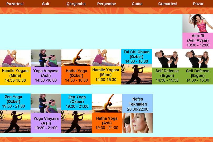 Kadıköy Yoga Dersleri, Yoga Ders Programı, Hatha Yoga Kadıköy, Hamile Yogası Kadıköy, Tai Chi Kadıköy