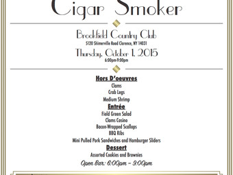 Erie County Law Enforcement Foundation:  Cigar Smoker