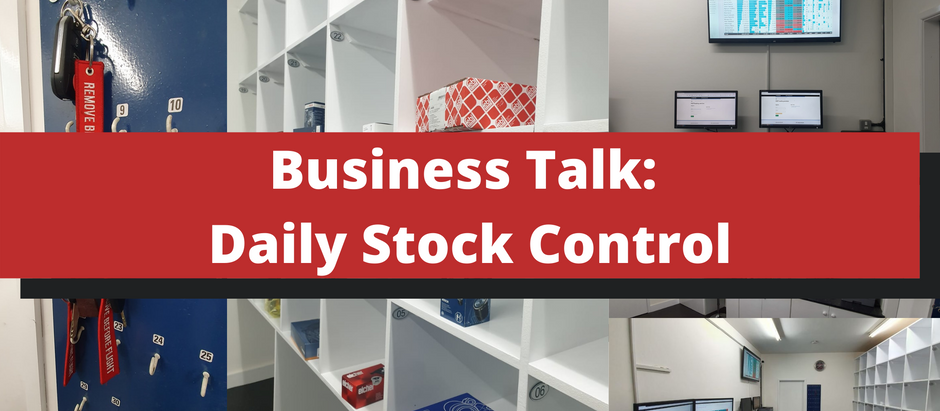 Business Talk: Pigeon-hole system for day-to-day stock control in your garage🕊️