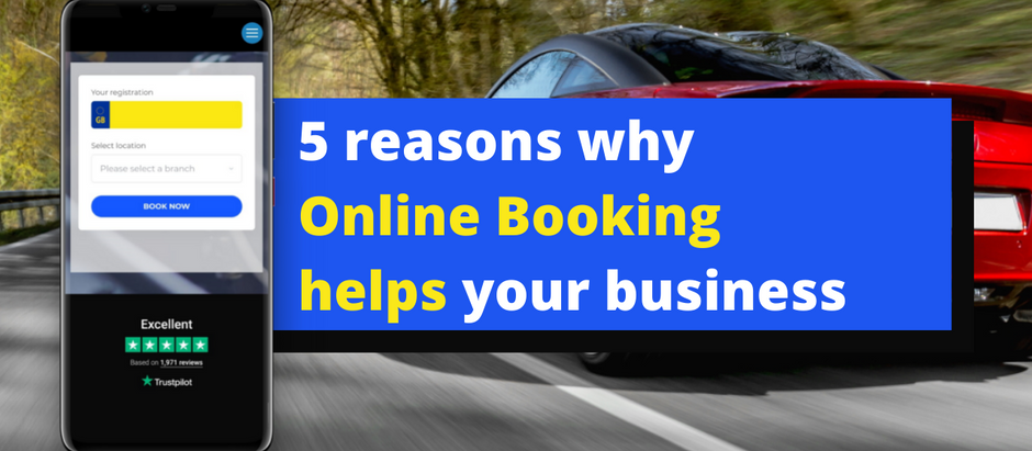 5 reasons why online booking helps your garage business