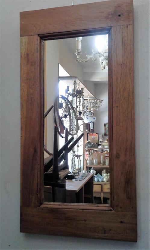 Antiguo Espejo Marco De Cedro Banderola | Estación Vintage. Casa de ...