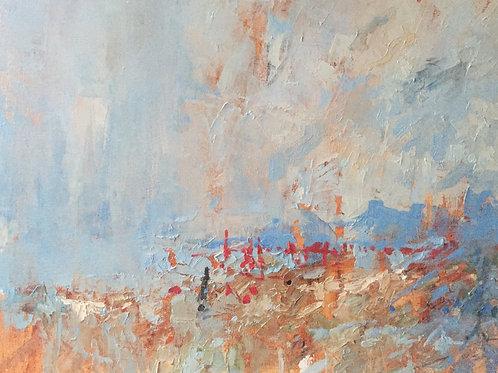 Sardinian paintings. Rainy.