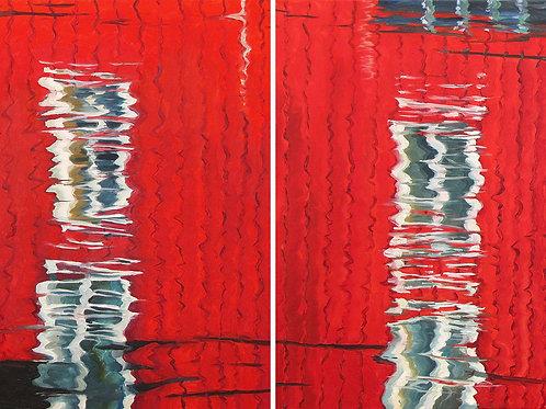 Отражение. Красный