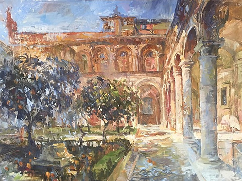 Rome. Palazzo Pamphilj.
