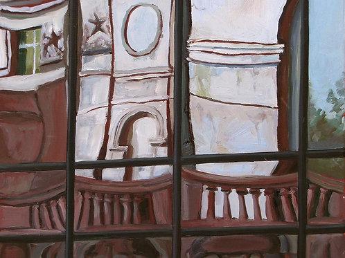 Отражение. Высотка на Баррикадной 1