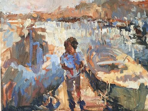 Sardinian paintings. Mark.